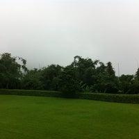 Photo taken at Doi Tung Lodge by Pinyada T. on 10/1/2012