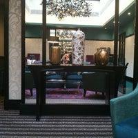 Photo taken at Tiffany Hôtel by Anna C. on 10/27/2012
