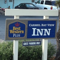 Photo taken at Best Western Carmel's Town House Lodge by Jose Silverio A. on 11/7/2014