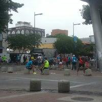 Photo taken at Plaza Alfredo Sadel by NIURKA B. on 4/28/2013