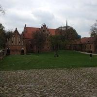 Photo taken at Zisterzienserkloster Chorin by Uli B. on 5/2/2013