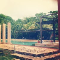 Photo taken at Hacienda Temozon by Giina on 6/8/2013