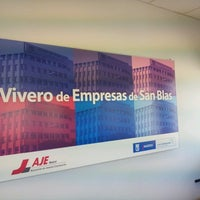 Photo taken at Vivero de Empresas de San Blas. Madrid Emprende by Jerónimo M. on 3/14/2013