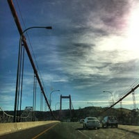 Photo taken at Carquinez Bridge by Andy B. on 11/22/2012