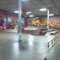 Photo taken at Cream City Skatepark by Alex C. on 11/18/2012
