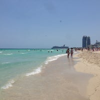 Photo taken at 9th Street Beach by Yury on 5/12/2013
