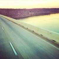 Photo taken at Millard E. Tydings Memorial Bridge by Melissa O. on 12/13/2012