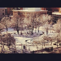 Photo taken at Rice Park by James L. on 12/10/2012