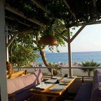 Photo taken at Buzz Beach Bar by Emir Ö. on 8/31/2014