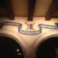 Photo taken at Pirates of the Caribbean by Denisse on 8/19/2013
