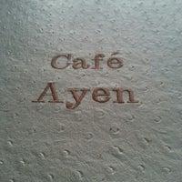 Photo taken at Café Ayen by Pedro S. on 11/3/2012
