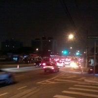 Photo taken at Avenida Guarapiranga by Ivan T. on 10/25/2012