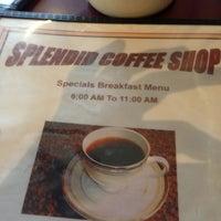 Photo taken at Splendid Coffee Shop by Matthew H. on 11/15/2012