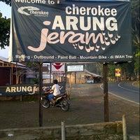 Photo taken at Cherokee arung jeram by feraldi e. on 11/15/2012