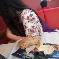 Photo taken at Hesburger - Liepāja Neste by Anete B. on 8/26/2016
