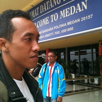 Photo taken at Arrival Terminal (MES) by Jalu R. on 11/17/2012