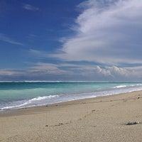 Photo taken at Pantai Pandawa (Pandawa Beach) by Langgeng B. on 6/30/2013