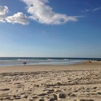 Photo taken at Coolangatta Beach by Pavla C. on 5/27/2013