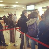 Photo taken at Banco Santander by Karla V. on 4/29/2013