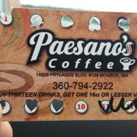 Photo taken at Paesano's Coffee by Beth N. on 3/12/2016