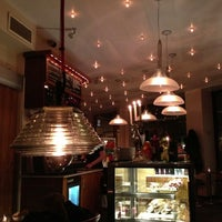 Photo taken at Café Levinsky's by Emilie on 1/7/2013