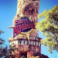 Photo taken at Islands Of Adventure Lighthouse by Michelle R. on 12/19/2012