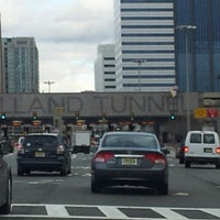 Photo taken at Holland Tunnel Toll Plaza by Ahmad on 11/24/2012