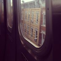 Photo taken at MTA Subway - M Train by Dana on 11/16/2012