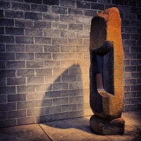Photo taken at The Noguchi Museum by Daniel S. on 11/22/2012