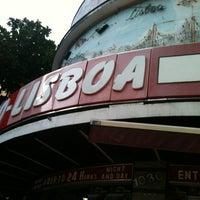 Photo taken at Padaria Rio-Lisboa by Luiz F. on 12/24/2012