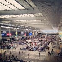 Photo taken at Shanghai Hongqiao Railway Station by Maksim on 7/13/2013