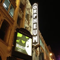 Photo taken at SHN Orpheum Theatre by Akit on 1/25/2013