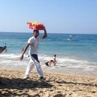 Photo taken at Playa de los Muertos by David H. on 12/28/2012