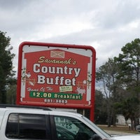 Photo taken at Savannah's country buffet by Sheryl P. on 2/10/2013