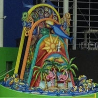 Photo taken at Marlins Park by Rocky A. on 4/10/2013