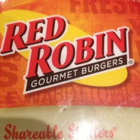 Photo taken at Red Robin Gourmet Burgers by @SARAHAKALADYD on 1/16/2013