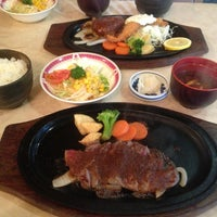 Photo taken at 松阪肉 石かわ 鵜の森店 by Keith K. Y. on 6/21/2013
