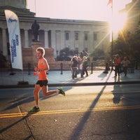 Photo taken at Nationwide Children's Hospital Columbus Marathon & 1/2 Marathon by Meg on 10/20/2013