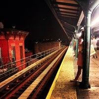 Photo taken at MTA Subway - Myrtle/Wyckoff Ave (L/M) by Keilon L. on 7/14/2013