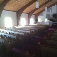 Photo taken at Wall Highway Baptist Church by Nicholas B. on 10/9/2011