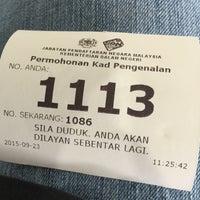 Photo taken at Jabatan Pendaftaran Negara Negeri Perak by Luke C. on 9/23/2015