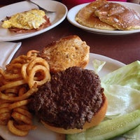 Photo taken at Sunset Park Diner and Donuts by Kevin R. on 9/20/2013
