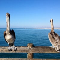 Photo taken at Oceanside Pier by Aaron W. on 11/22/2012