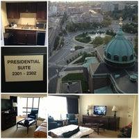 Photo taken at Sheraton Philadelphia Downtown Hotel by alan f. on 9/14/2013