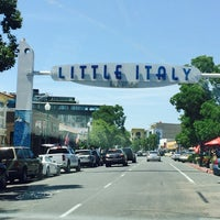 Photo taken at Little Italy by Gabriela Q. on 6/15/2014