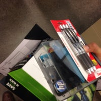 Photo taken at Office Depot by Adrian J. on 2/26/2014