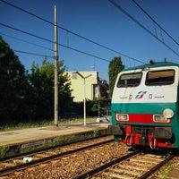 Photo taken at Stazione di Pompei by Cristiano E. on 8/3/2013