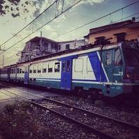 Photo taken at Stazione di Pompei by Cristiano E. on 8/9/2013
