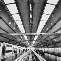 Photo taken at Fiumicino Aeroporto railway station (ZRR) by Marco K. on 5/31/2013
