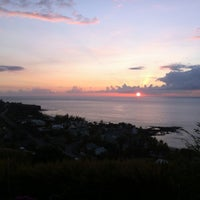 Photo taken at Plage de Boucan Canot by Renaud I. on 10/29/2012